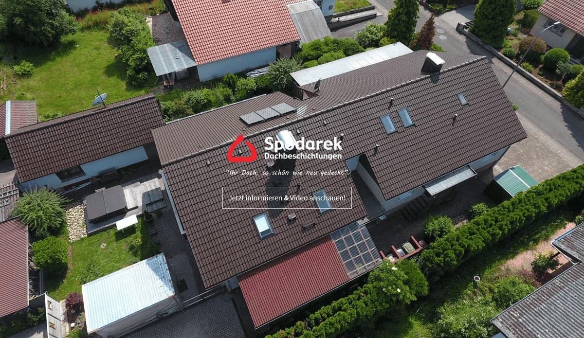 Dachbeschichtung für Heilbronn - SpodarekDach.de: Dachreinigungen, Dachsanierungen, Dachdecker Alternative