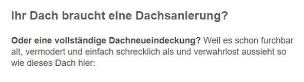 Dachsanierungen für 73525 Schwäbisch Gmünd, Alfdorf, Ottenbach, Lorch, Durlangen, Iggingen, Leinzell oder Mutlangen, Waldstetten, Täferrot