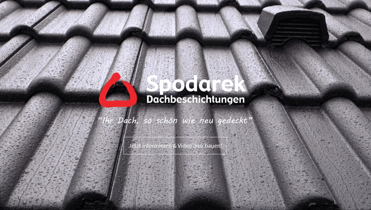 Dachbeschichtung in Kornwestheim - SpodarekDach.de: Dachdecker Alternative, Dachreinigungen, Dachsanierung