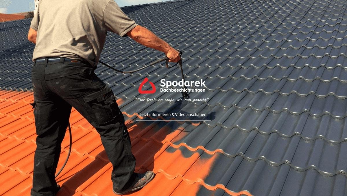Dachbeschichtungen für Notzingen - SpodarekDach.de: Dachsanierungen, Dachdecker Alternative, Dachreinigung