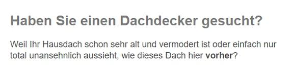 Dachdecker / Zimmerei aus 73274 Notzingen