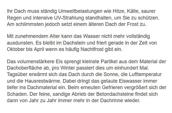 Dachrenovierungen in  Klein-Winternheim