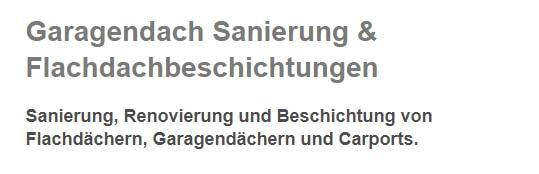 Garagendach Sanierungen aus  Stuttgart, Ostfildern, Filderstadt, Esslingen (Neckar), Korntal-Münchingen, Fellbach, Gerlingen oder Leinfelden-Echterdingen, Ditzingen, Kornwestheim