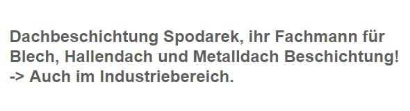 Metalldachsanierung für  Wissen - Köttingerhöhe, Köttingen, Kölbach, Niederhombach, Neubrendebach, Loche und Alserberg, Nisterstein, Nisterberg