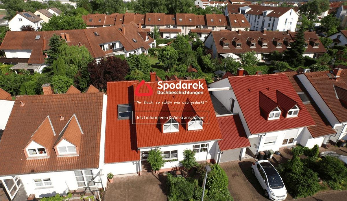 Dachbeschichtungen in Sprendlingen - SpodarekDach.de: Dachdecker Alternative, Dachsanierungen, Dachreinigungen